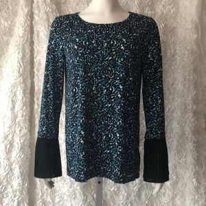 Blue and Black Michael Kors Shirt